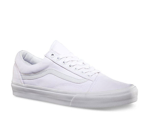 Vans Old Skool True White Canvas