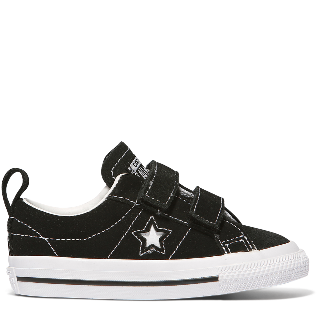 Converse Infants One Star 2V OX Black White