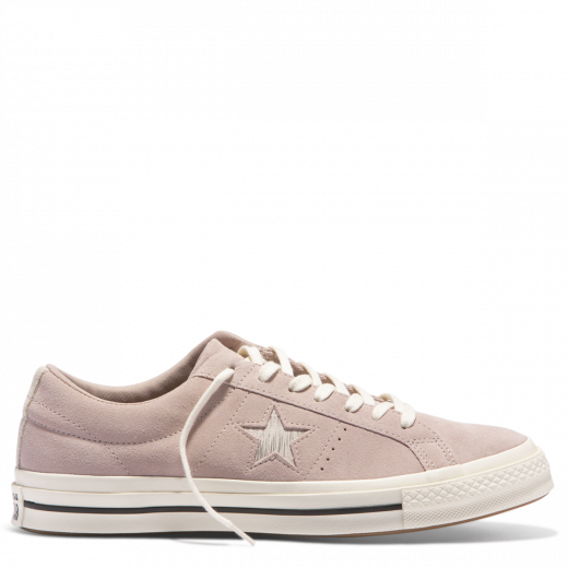 Converse One Star Metallic Logo Low Top Diffused Taupe
