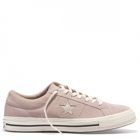 Converse One Star Metallic Logo Low Top Diffused Taupe Silver Egret 161539 Famous Rock Shop Newcastle, 2300 NSW. Australia. 1