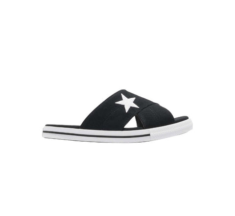 Converse One Star Sandal Slip Black 565527 Famous Rock Shop Newcastle, 2300 NSW. Australia. 1