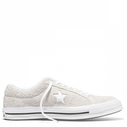 Converse One Star Suede Low Top White
