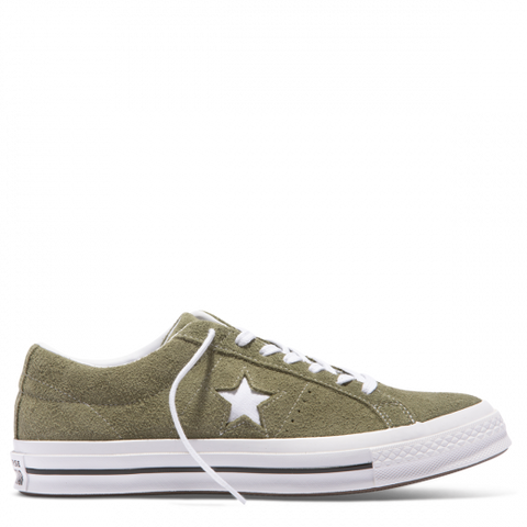 Converse One Star Vintage Suede OX Field Surplus White 161576C Famous Rock Shop Newcastle, 2300 NSW. Australia. 1