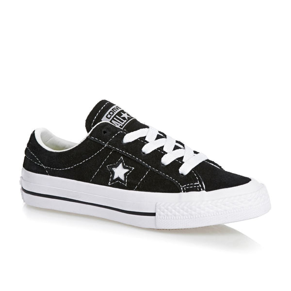 779c8c633e7bb1 Converse One Star Ox Youth Black White Gum 353061C – Famous Rock Shop