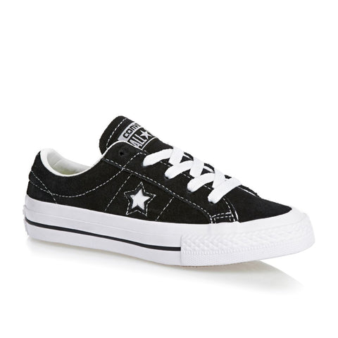 Converse One Star Ox Youth Black White Gum 353061C