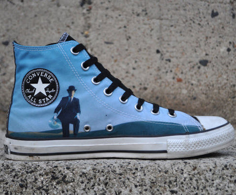 Converse Pink Floyd Wish HI Black White 108830 Famous Rock Shop 517 Hunter Street Newcastle 2300. Australia