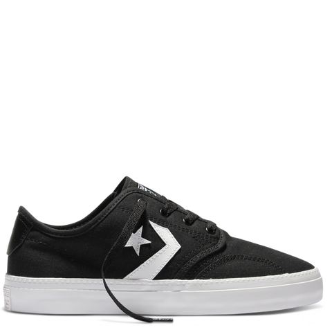 Converse Youth CONS Zakim Canvas OX Black White Black 354390