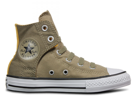 Converse Youth Hi Easy Sandy Khaki Canvas