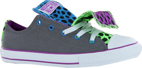Converse Youth CT Double Tongue Ox Charcoal Multi 640544C