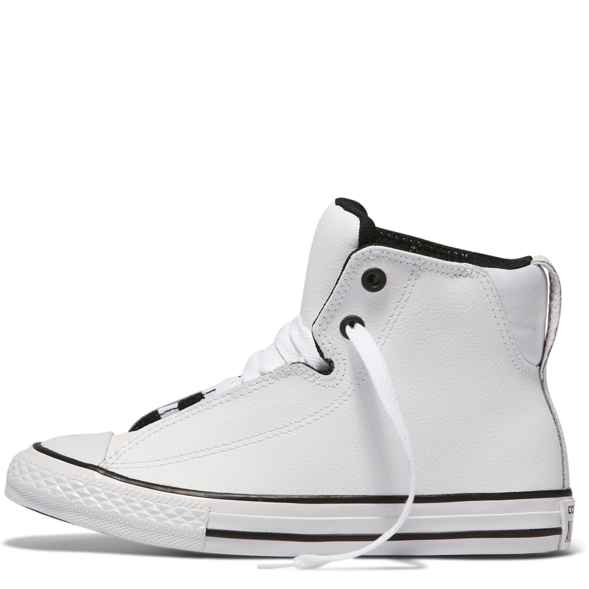 728d02f235f9 ... Chuck Taylor Youth All Star Legit Leather High Top White 655997C Famous  Rock Shop 517 Hunter ...