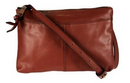 Cooper St Leather Sling Bag Tan