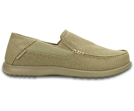 Croc Men's Santa Cruz 2 Luxe Loafer Khaki / Khaki