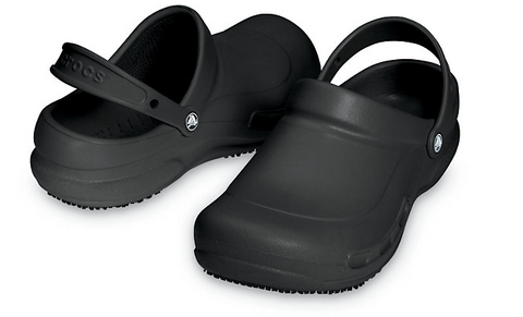 Crocs Bistro Black Unisex Slides