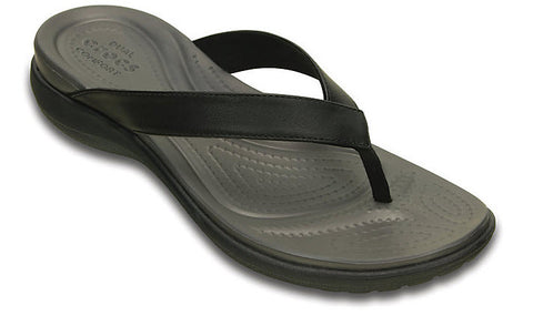 Crocs Capri V Flip Black Graphite 202502