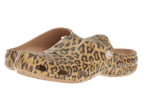 Crocs Freesail Graphic Clog Leopard Print