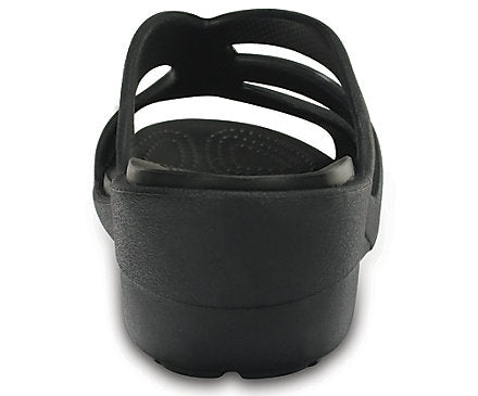 401eafa8e8c8 Crocs Women s Sanrah Strappy Wedge Sandals Black – Famous Rock Shop