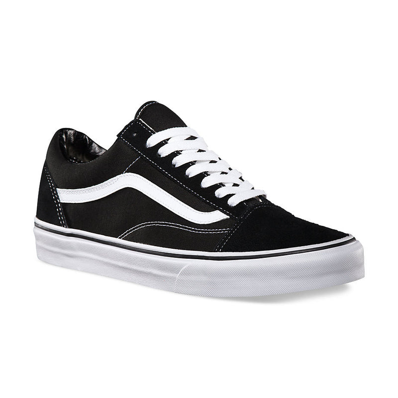Vans Old Skool Youth shoe Black/True White VN000W9T6BT Youth Vans Newcastle 2300 Famous Rock Shop 517 Hunter Street Newcastle 2300 NSW Classic Vans Youth Sizies Vans for kids