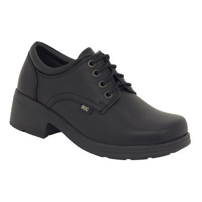 Roc Dakota Black Wax Leather Shoes
