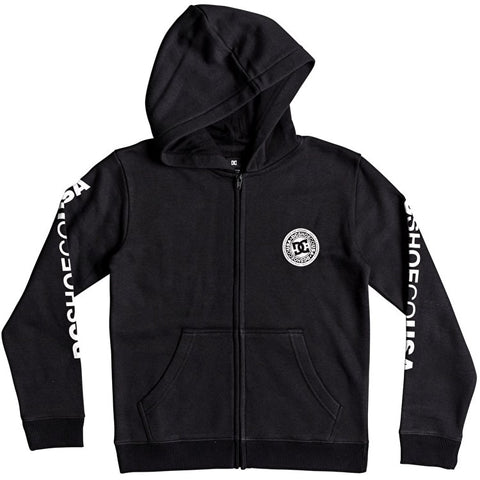 DC Circlestar Hoodie Black EDYSF03174 Famous Rock Shop Newcastle 2300 NSW Australia