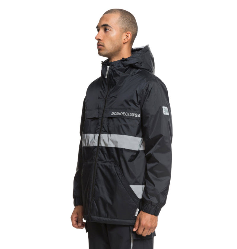 DC Men's Banbury Water Resistant Hooded Jacket EDYJK03176 Famous Rock Shop Newcastle, 2300 NSW. Australia. 2