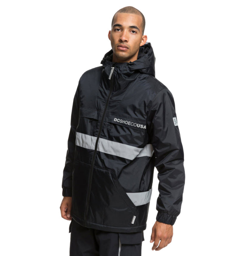 DC Men's Banbury Water Resistant Hooded Jacket EDYJK03176 Famous Rock Shop Newcastle, 2300 NSW. Australia. 3