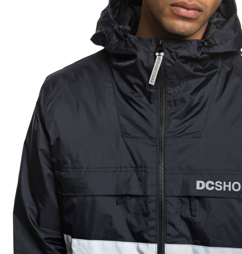 DC Men's Banbury Water Resistant Hooded Jacket EDYJK03176 Famous Rock Shop Newcastle, 2300 NSW. Australia. 6