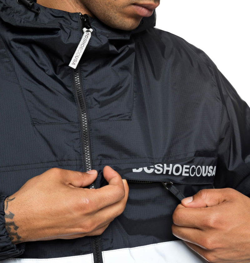 DC Men's Banbury Water Resistant Hooded Jacket EDYJK03176 Famous Rock Shop Newcastle, 2300 NSW. Australia. 7