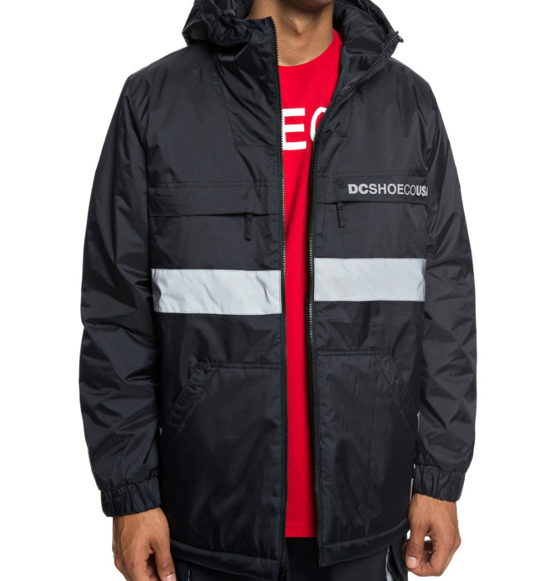 DC Men's Banbury Water Resistant Hooded Jacket EDYJK03176 Famous Rock Shop Newcastle, 2300 NSW. Australia. 9