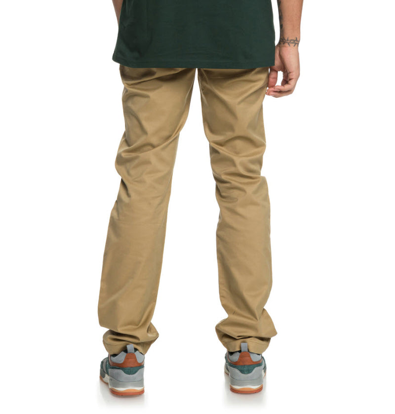 DC Men's Worker Straight Chino Pant Khaki EDYNP03136 Famous Rock Shop Newcatle, 2300 NSW. Australia. 3