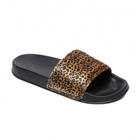 DC Shoes SLIDE TX SE Cheetah Print ADJL100022-CHE