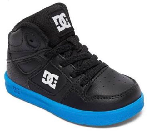DC Toddler's Rebound Shoe Black Royal Hi Top 320167