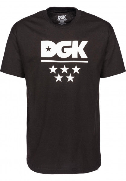 DGK All Star Tee KAYO DT3910 Black Famous Rock Shop Newcastle NSW Australia