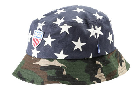 DGK Americana Bucket Hat DH-758 NAVY Famous Rock Shop Newcastle 2300 NSW Australia