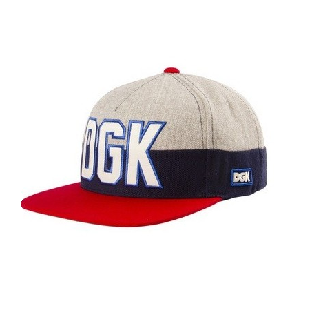 DGK All Star Snapback Red Famous Rock Shop Newcastle 2300 NSW Australia