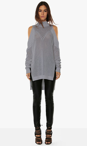 Premonition Diagonal Jumper - Dove