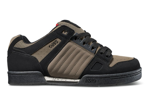 DVS Celsius Black Taupe Nubuck DVF0000233 Colour 014 Famous Rock Shop Newcastle NSW Australia