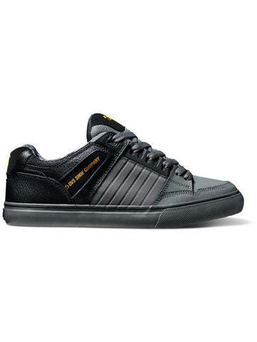 DVS Celsius CT Black Charcoal Leather   Famous Rock Shop 517 Hunter Street Newcastle 2300 NSW  Australia