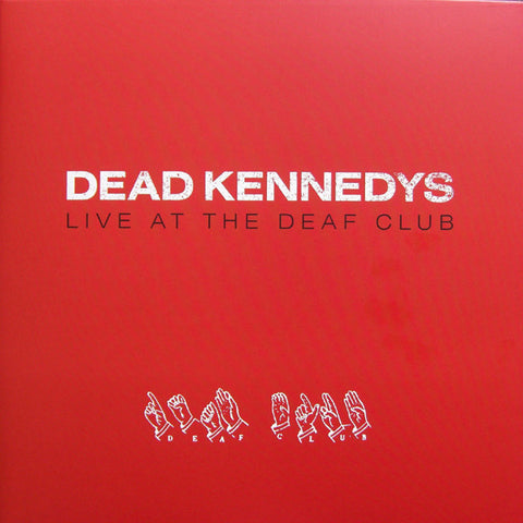Dead Kennedys Live At The Deaf Club Red LP Vinyl  Famous Rock Shop 517 Hunter Street Newcastle, 2300 NSW. Australia.