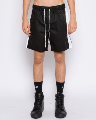 DEAD Studios MF Stripe Boardshort Black White