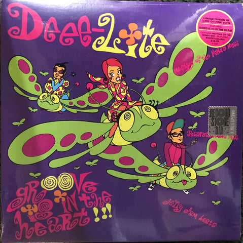 Deee Lite Groove is the heat what is love limited edition pink vinyl