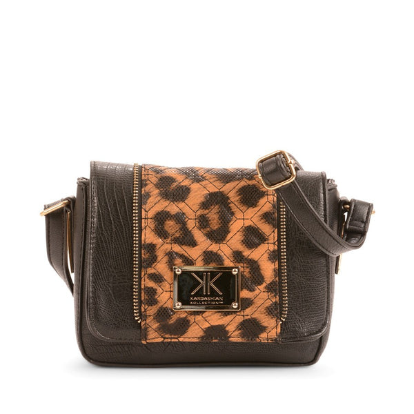 Detailed Dreamer Shoulder Bag Black/ Leopard