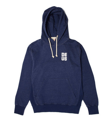 Deus Ex Machina Austin Hoodie Navy Marle DMP68934 Famous Rock Shop  Newcastle 2300 NSW Australia