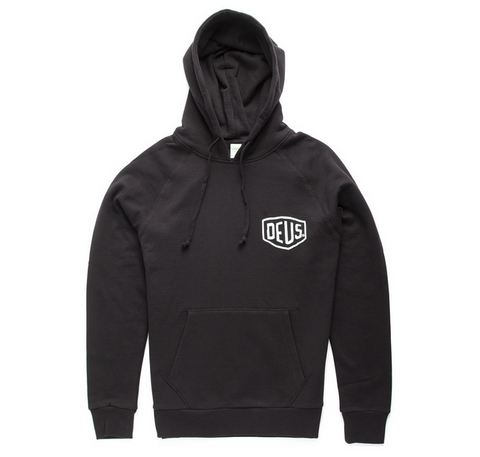 Deus Ex Machina Camperdown Address Hoodie Black DMW48675A