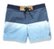 "Dues Ex Machina Canggu Berawa Pond Blue Shorts DMP52902E. This 16"" leg fixed waist boardshort features triple eyelet detail features a contrast waistband and colour fade panel, with 2 way stretch, 98% cotton and 2% spa Famous Rock Shop Newcastle 2300 NSW Australia"