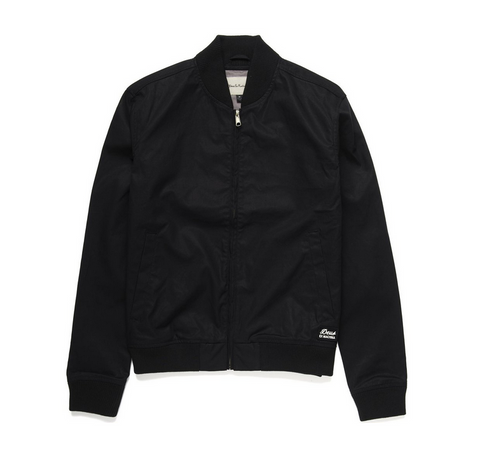 Deus Ex Machina Garth Bomber Black DMP56357