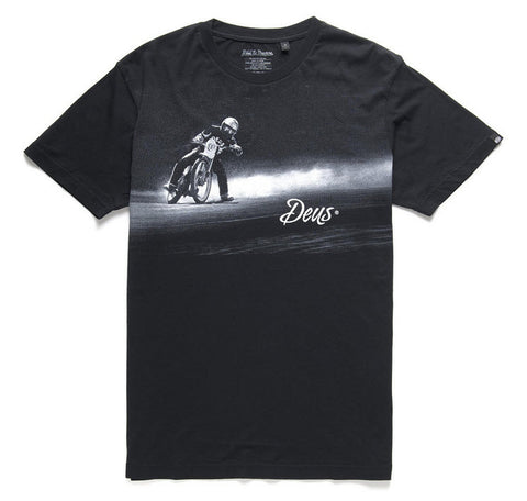 Deus Ex Machina Left Again Black T-Shirt Men's DMP51454BLK
