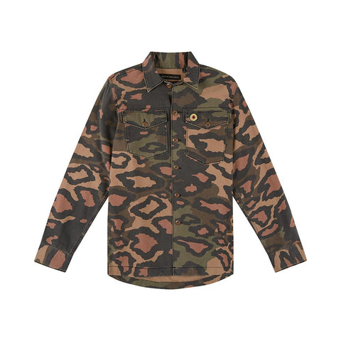 Deus Ex Machina Leo Monty Overshirt Camo DMP85044A Famous Rock Shop Newcastle, 2300 NSW Australia. 1