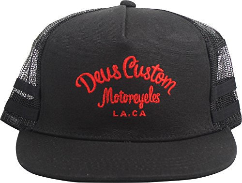 Deus Harry Trucker Cap Black