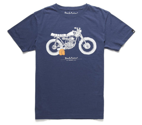 Deus Ex Machina 'The Shank' T-Shirt - Navy DMP31258H