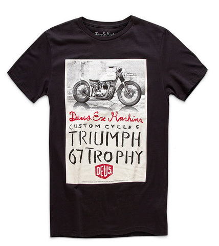 Deus Ex Machina Triumph Trophy Black DMW41808F